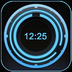 Digital Clock Disc Widget Apk