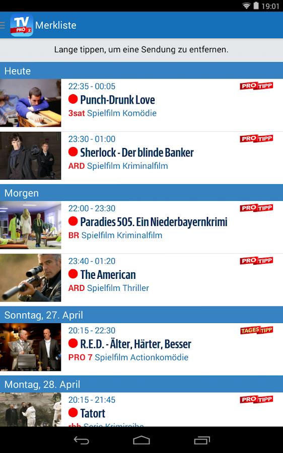 7 Tv Programm