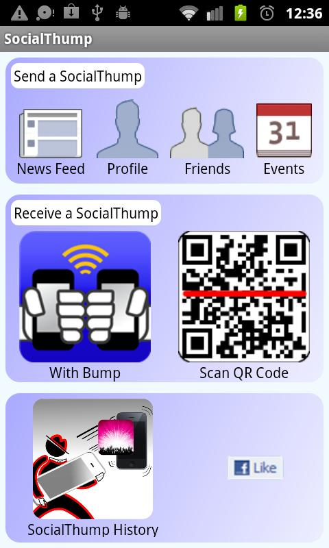 SocialThump - screenshot