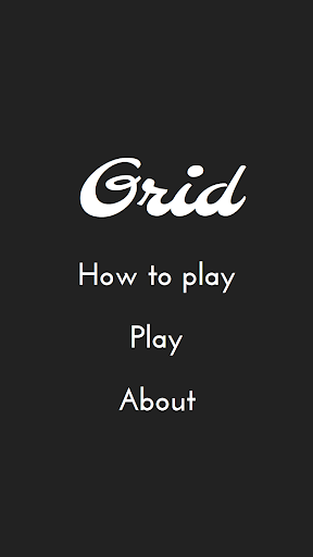 Grid - A Logic Puzzle Game