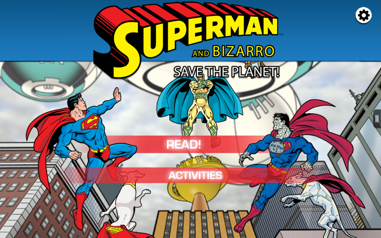 Superman and Bizarro Storybook - screenshot