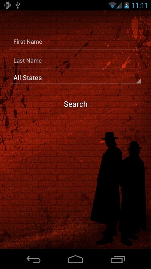 Sex Offenders Search - screenshot