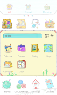Atelier - GO Launcher Theme - screenshot thumbnail