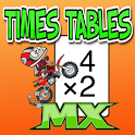 Times Tables Motocross icon