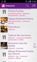 Screenshot of I Ristoratori di Vicenza