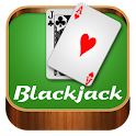 Black Jack 21 carte icon