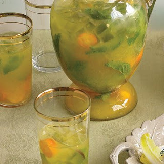Kumquat Mojitos.