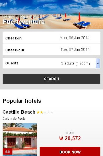 Fuerteventura Hotel finder