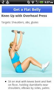 Flat Belly With Weight Loss - screenshot thumbnail