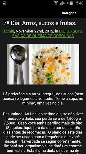 【免費健康App】Dieta da Sopa de Repolho-APP點子