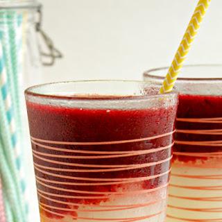 Mixed Berry Frozen Lemonade.