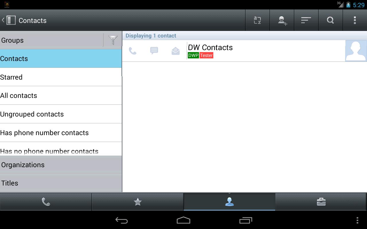 DW Contacts & Phone & Dialer v2.7.2.2 Pro Ücretsiz Apk Full İndir