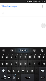 French Language - GO Keyboard Screenshot 3