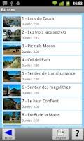 Screenshot of Chemins du père Chapfoin