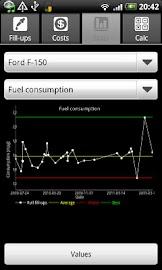 FuelLog - Car Management Screenshot 4