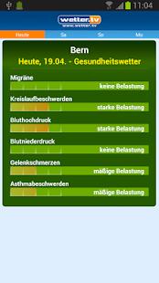 Wetter App Schweiz - wetter.tv - screenshot thumbnail
