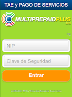 Screenshot of Multiprepaid