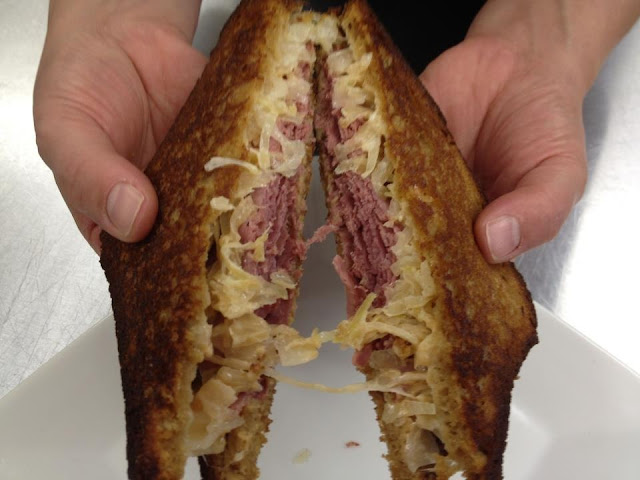 Reuben sandwich - the best ever