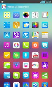 Fresh Flat Icon Pack v3.1.4