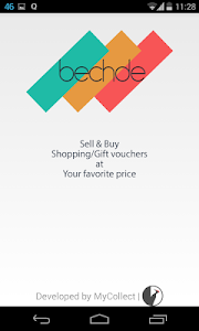 BechDe - Voucher Trading App screenshot 0