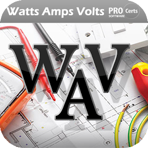 What is the formula for converting watts to amps?
