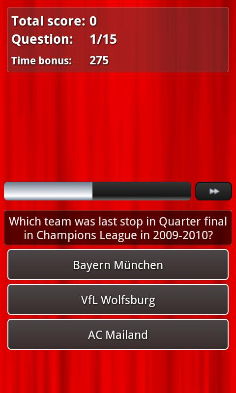Manchester United Quiz - screenshot