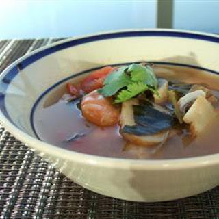 Thai Prawn Soup (Tom Yum Goong) Recipe