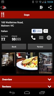 Australian Good Food Guide - screenshot thumbnail