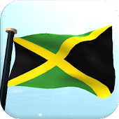 Jamaica Flag 3D Live Wallpaper