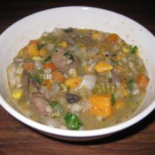 Melanie's Beef Barley Soup