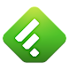 Feedly. Google Reader News RSS icon