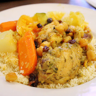Spicy Chicken with Moroccan Cous Cous