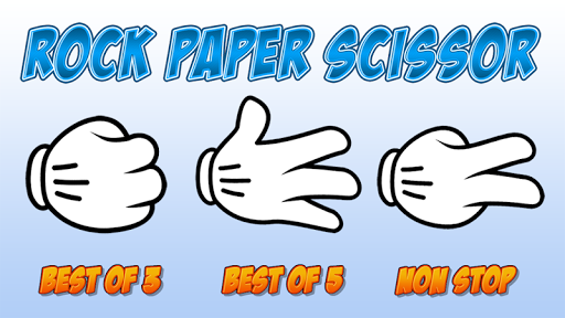 Classic Rock Paper Scissors
