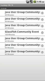 JavaOne/Oracle Dev Community - screenshot thumbnail