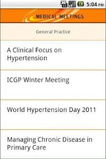 Medical Meetings- screenshot thumbnail