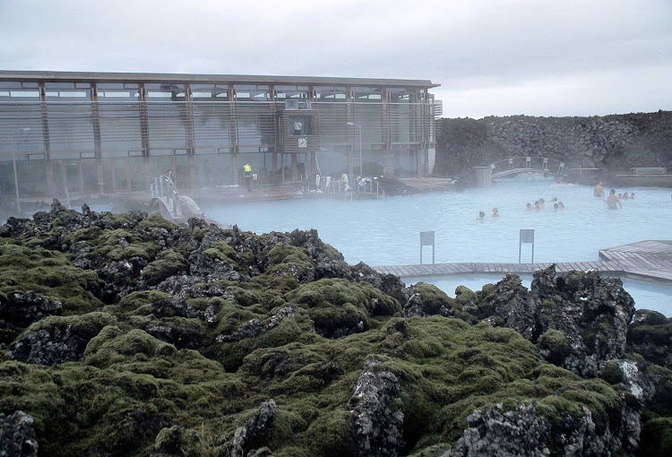 Deildartunguhver, largest of Iceland's famed hot springs, is located near Reykholt.