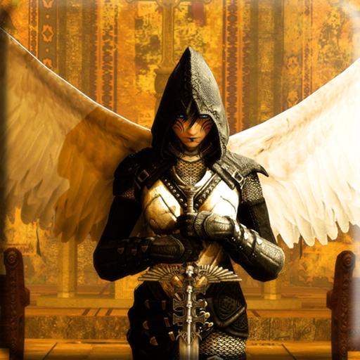 天使战士波壁纸 個人化 App LOGO-APP試玩