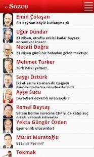 玩免費新聞APP|下載Sözcü Gazete,Haber,Yazar app不用錢|硬是要APP