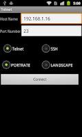 Screenshot of Telnet / SSH Simple Client