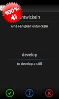 Screenshot of Speeq German   English