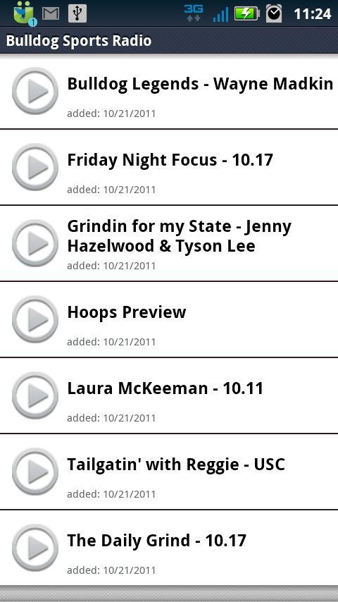 Bulldog Sports Radio - screenshot