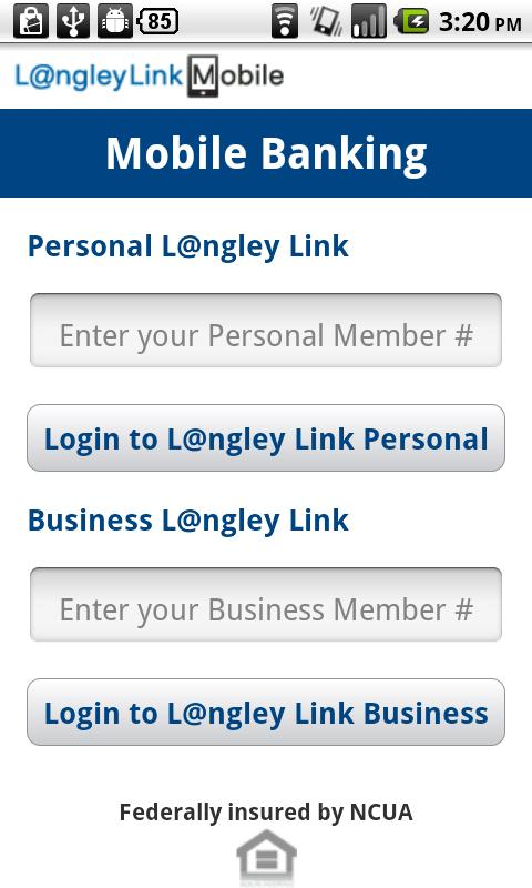 Langley FCU - screenshot