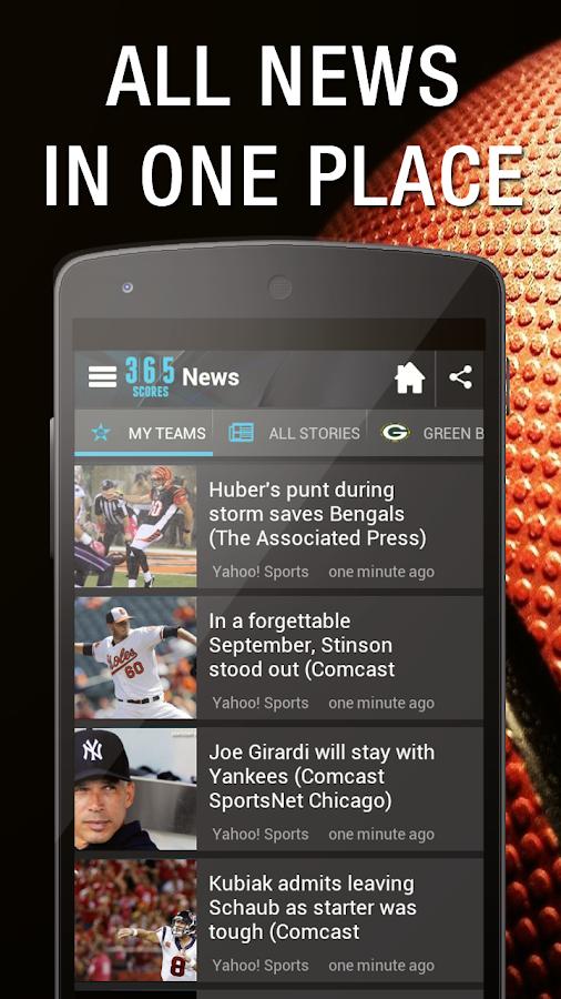 Live Sports Scores - 365Scores - screenshot