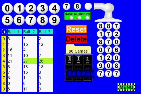 Pick 3 Lottery Tracking Pro
