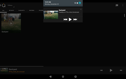 Avia Media Player (Chromecast) Screenshot 9