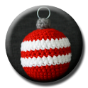 Christmas Crochet Bauble icon