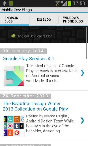 Mobile Dev Blogs