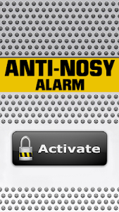 Anti-Nosy Alarm screenshot 9