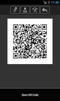 Screenshot of Cardfix QR Business Card
