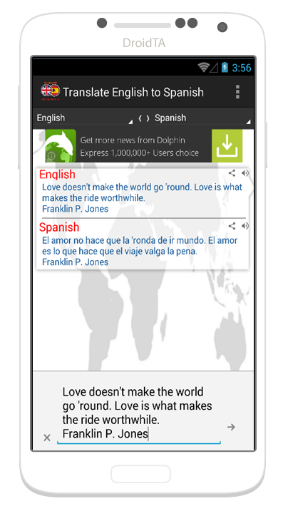 TRANSLATE ENGLISH TO SPANISH - Android Apps on Google Play - photo#29